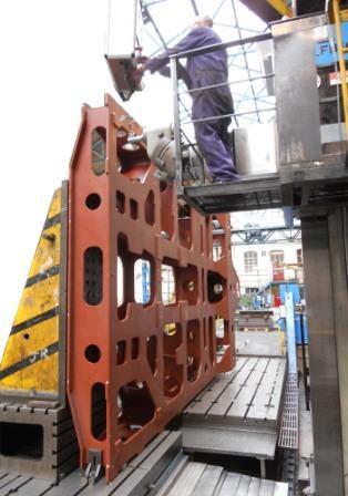 Underwater Mining Frames